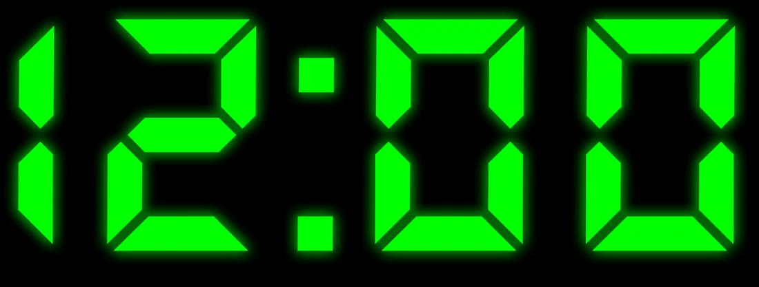 digitális óra számláló
