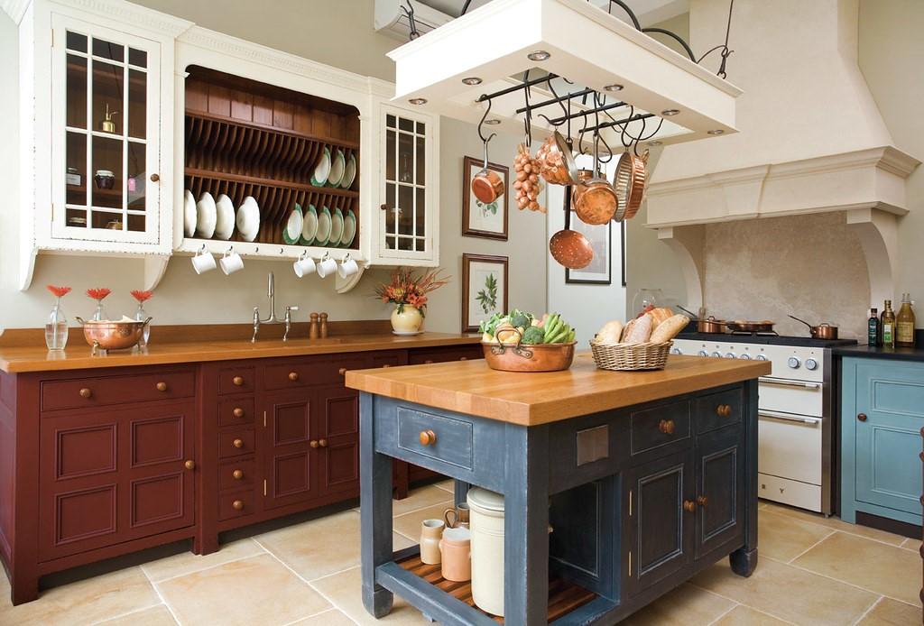 Fából készült konyha sziget