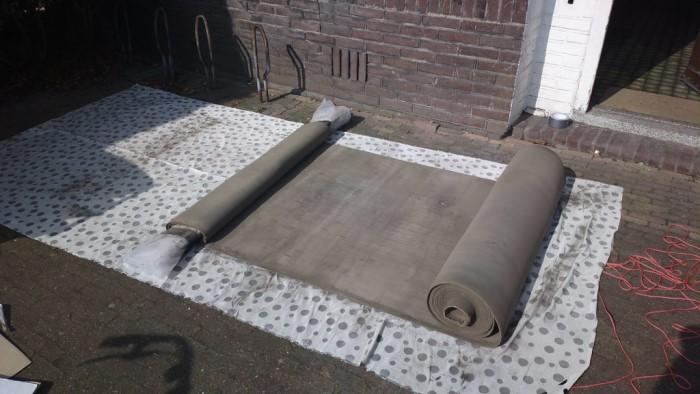 gyomirtás vegyszer nélkül betonpaplannal